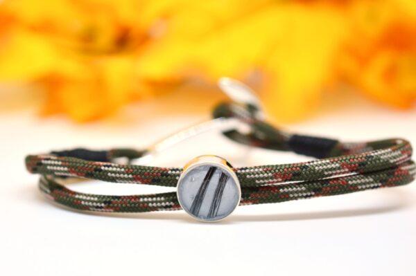Schmuck für Männer und Frauen Paracord Armband military
