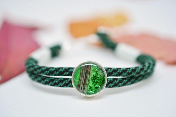 Schmuck für Männer und Frauen Paracord Armband grün