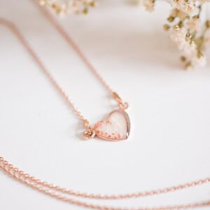 Herz Divina Rosegold