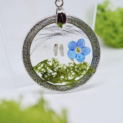 Anhänger-Silberring-Fassung-Schmuck-Großlochperlen-Leafinity-Erinnerungsschmuck-individueller-Schmuck1